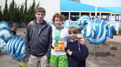 First Marathon - Virginia Beach Shamrock