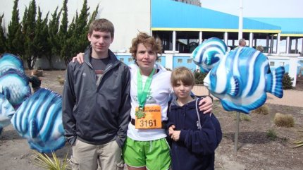 First Marathon - Virginia Beach Shamrock