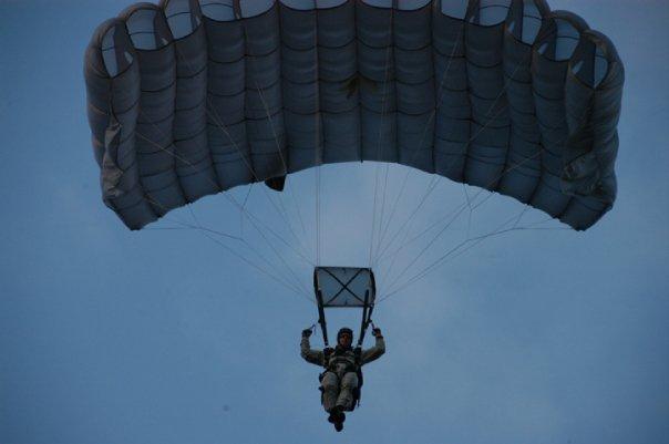 Wes skydiving