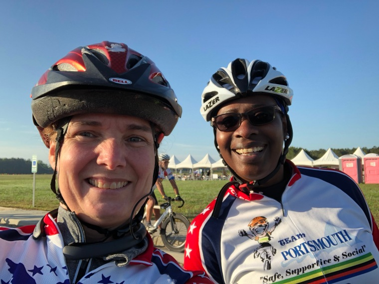 Team Portsmouth Tour de Cure 2018