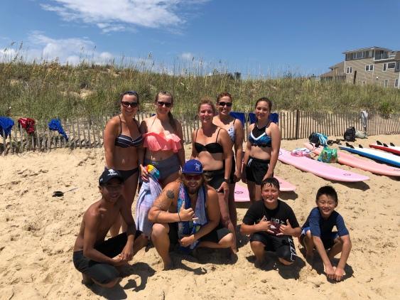 Surfing Participants